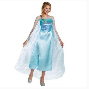 NEW Disguise Disney Frozen Elsa Deluxe Costume